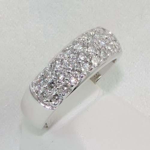 25 Diamond Pave Band in 14k WG