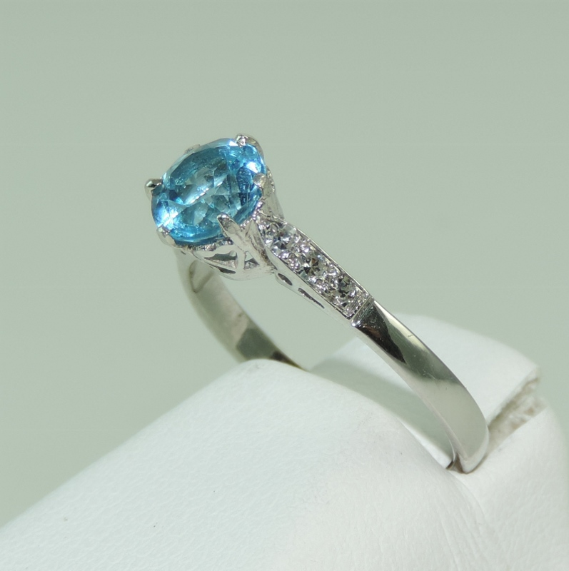 ring stack products the corner w cornerstackring giacomelli finejewelry grande art trendy deco blue bluezircon jewelry white gold diamond zircon